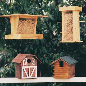 Bird Shelters and Feeders plans