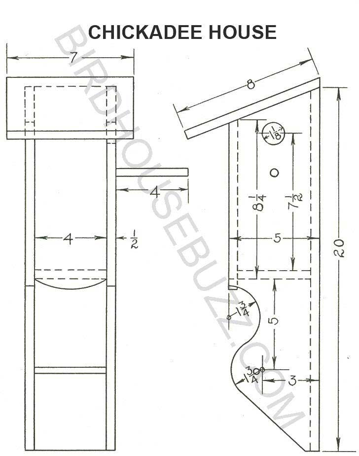 Plans to build bird houses find house plans for Printable blueprints