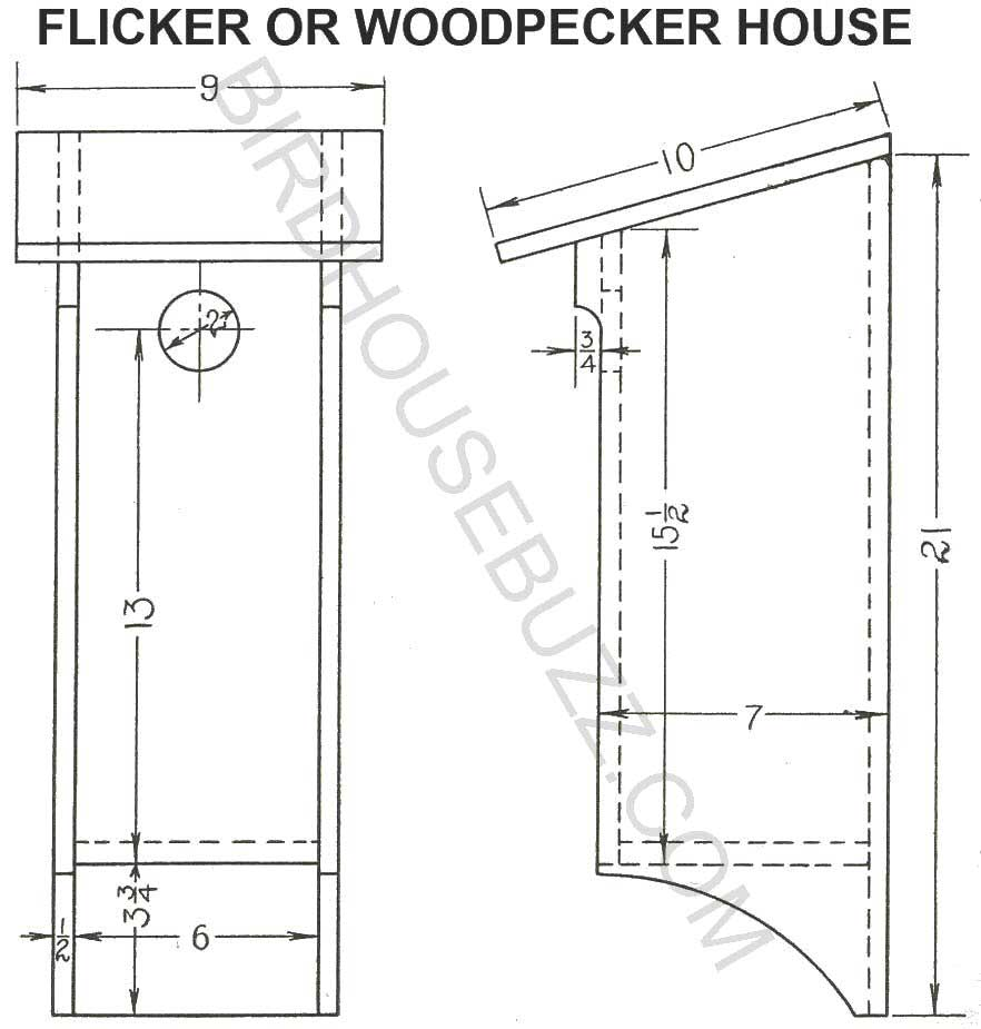 Wood project februari 2015 for Printable blueprints