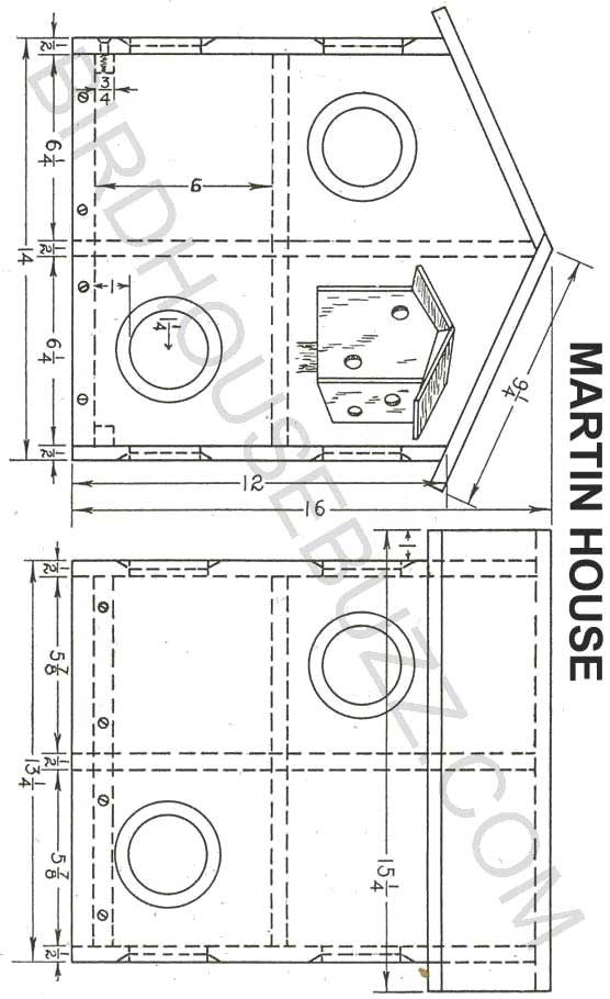 Free Purple Martin House Plans