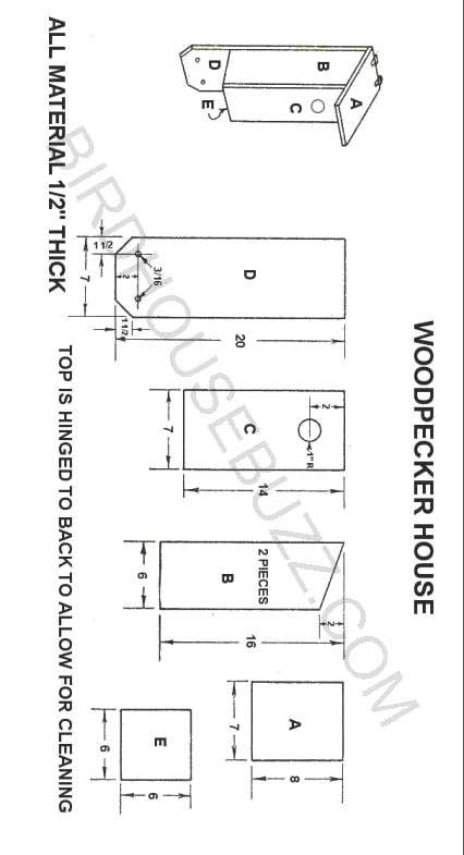 Do It Yourself Home Design: Woodpecker House Plans